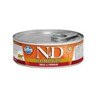 N&D Cat Quail Pumpkin Храна за Котки 80g