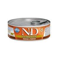 N&D Cat Venison & Pumpkin Храна за Котки 80 g