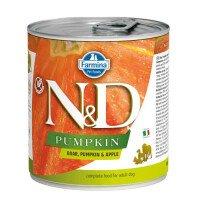 N&D Dog Boar Pumpkin & Apple Храна за Кучета 285 g