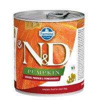 N&D Dog Puppy Lamb Pumpkin & Blueberry Храна за Кучета 285 g