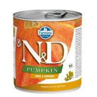 N&D Dog Quail & Pumpkin Храна за Кучета 285 g