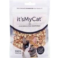 Хапки Its My Cat Пиле и Риба Grain Free 50 g