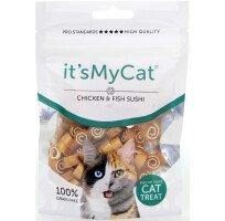 Хапки Its My Cat с Пилешко и Риба Grain Free 50 g