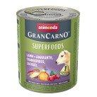 GranCarno Superfoods Храна за Кучета с Агнешко 800 g