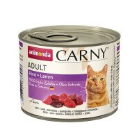 Carny Храна за Котки с Говеждо и Агне