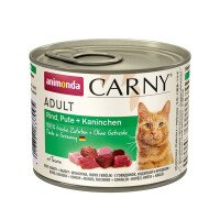 Carny Храна за Котки с Говеждо, Пуешко и Заек