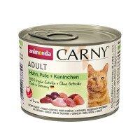 Carny Храна за Котки с Пилешко, Пуешко и Заешко