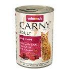 Carny Храна за Котки с Говеждо и Сърца