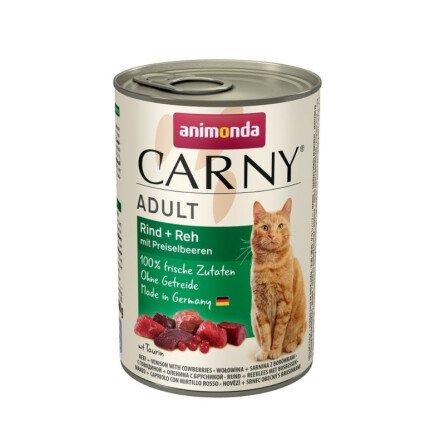 Carny Храна за Котки с Елен и Боровинки