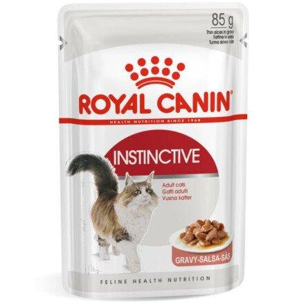 Royal Canin Instinctive Пауч за Котки Хапки в Сос 85 g