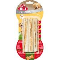 8in1 Dental Лакомство за Кучета Пръчици с Пилешко 3 бр