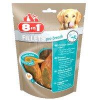 8in1 Pro Breath S Лакомство за Кучета Филенца с Пиле