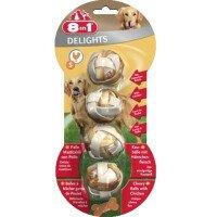 8in1 Delights Месни Дъвчащи Топчета с Пилешко