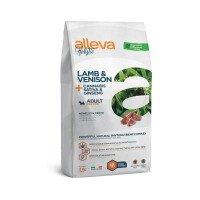 Alleva Holistic (Adult Mini) Lamb & Venison + Cannabis sativa & Ginseng Храна за Кучета с Агнешко и Еленско