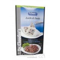 Dr. Clauder's Premium Pouches Храна за Котки със Сьомга и Пъстърва 100г