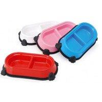 Camon Пластик Двойна Купа за Храна и Вода 26 см