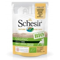 Schesir Био Храна за Кучета с Пиле 85 g