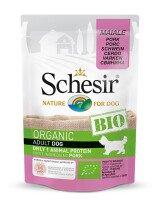 Schesir Био Храна за Кучета със Свинско 85 g
