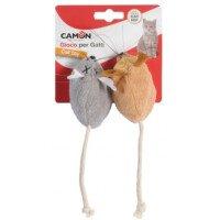 Camon Играчка за Котки Две Мишки с CATNIP