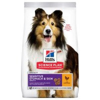 Hill's Science Plan Dog Adult Sensitive Храна за Кучета 14 kg