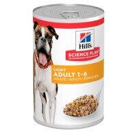 Hill's Science Plan Dog Adult Light Храна за Кучета 370 g